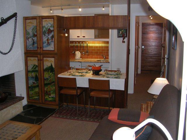 Vacances en montagne Studio 3 personnes (RHO504) - Résidence les Rhododendrons - Châtel - Séjour