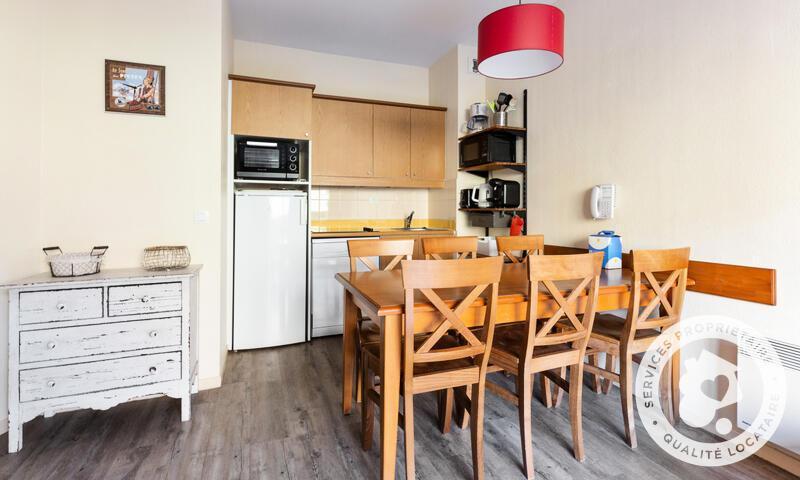 Location au ski Appartement 2 pièces 6 personnes (Sélection 40m²) - Résidence les Rives de l'Aure - Maeva Home - Saint Lary Soulan - Séjour