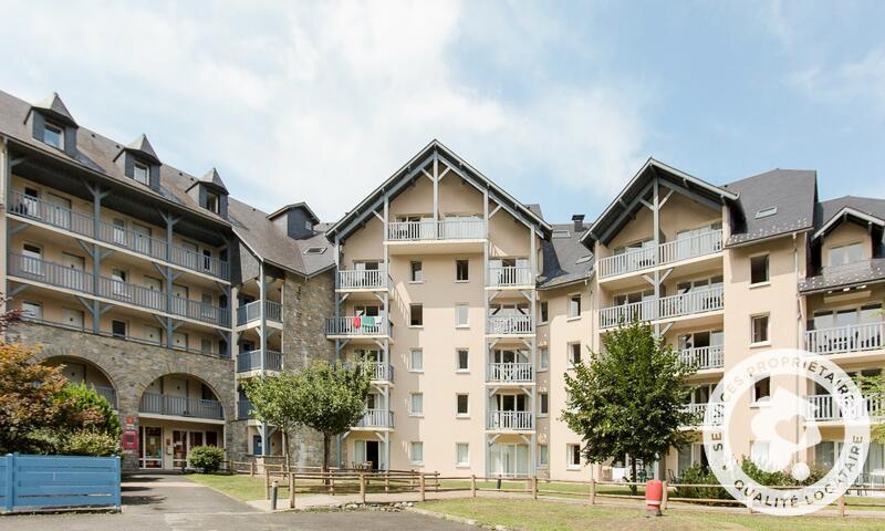 Location au ski Appartement 2 pièces 6 personnes (Sélection 43m²) - Résidence les Rives de l'Aure - Maeva Home - Saint Lary Soulan - Extérieur été
