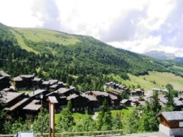 Vacances en montagne Studio 2 personnes (020) - Résidence les Roches Blanches - Valmorel - Extérieur été
