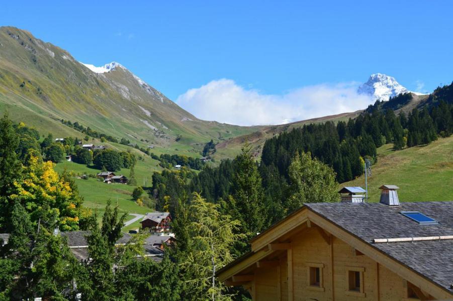 Vakantie in de bergen Appartement 2 kamers 6 personen (1B) - Résidence les Roches Fleuries - Le Grand Bornand