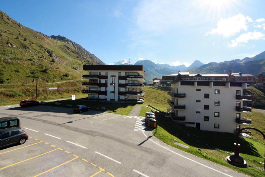 Wakacje w górach Apartament 2 pokojowy 4 osób (A6CL) - Résidence les Roches Rouges A - Tignes - Na zewnątrz latem