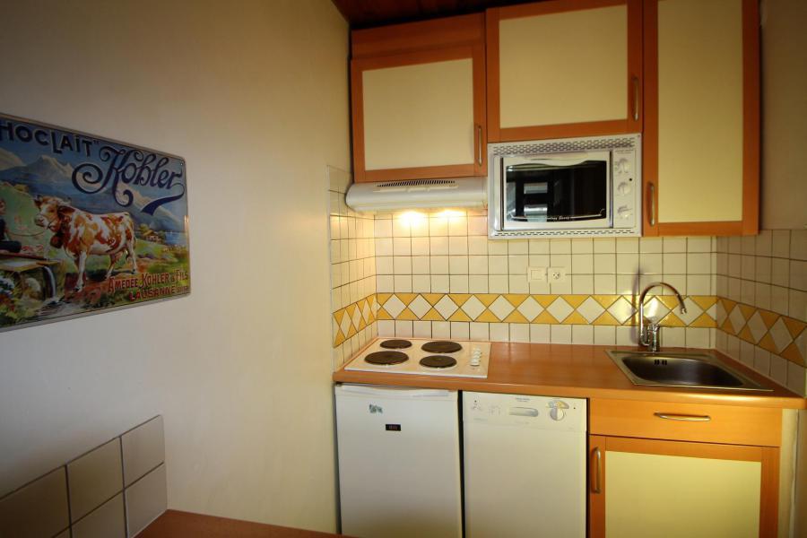 Wakacje w górach Apartament 2 pokojowy 4 osób (A6CL) - Résidence les Roches Rouges A - Tignes - Aneks kuchenny