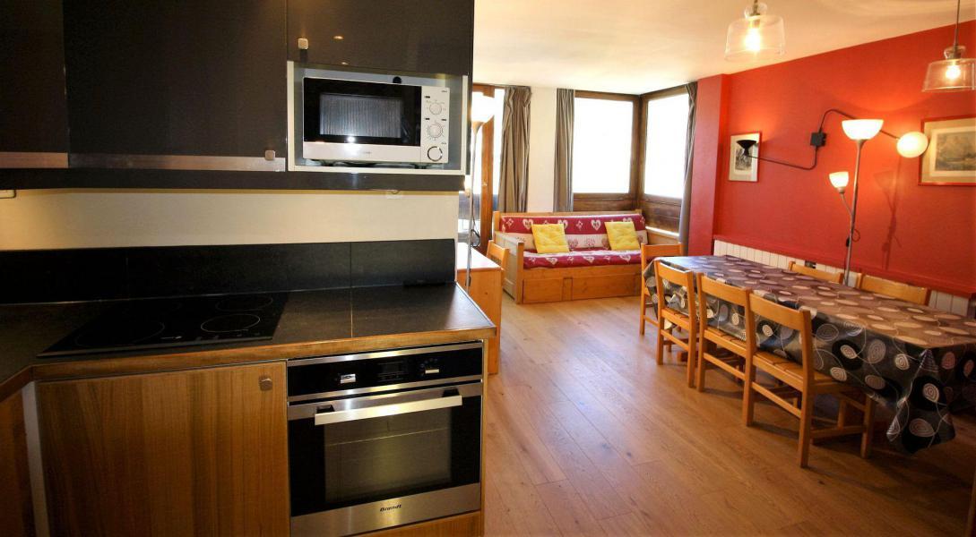 Каникулы в горах Апартаменты 3 комнат 8 чел. (B33CL) - Résidence les Roches Rouges B - Tignes