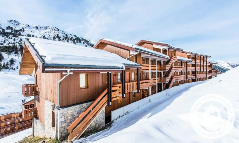 Vacances en montagne Appartement 2 pièces 4 personnes (Confort 28m²-11) - Résidence les Sentiers du Tueda - Maeva Home - Méribel-Mottaret - Extérieur été