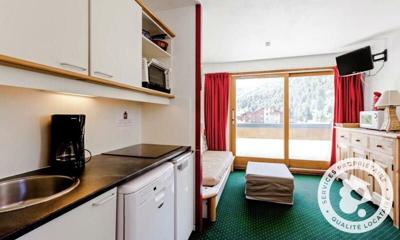 Vacances en montagne Appartement 2 pièces 4 personnes (Confort 28m²-1) - Résidence les Sentiers du Tueda - Maeva Home - Méribel-Mottaret - Extérieur été