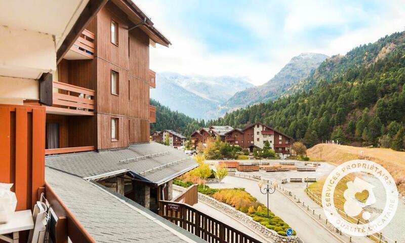 Vacances en montagne Appartement 2 pièces 6 personnes (Sélection 35m²) - Résidence les Sentiers du Tueda - Maeva Home - Méribel-Mottaret - Extérieur été