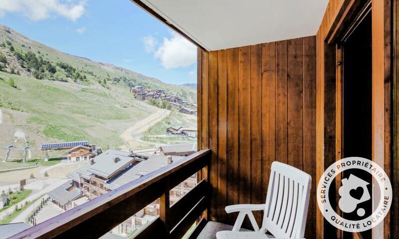 Vacances en montagne Appartement 2 pièces 4 personnes (Sélection 28m²) - Résidence les Sentiers du Tueda - Maeva Home - Méribel-Mottaret - Extérieur été