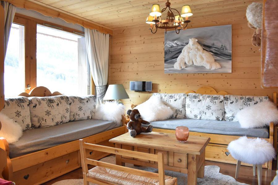 Vacances en montagne Appartement 3 pièces 7 personnes (16) - Résidence les Silènes - Méribel - Séjour
