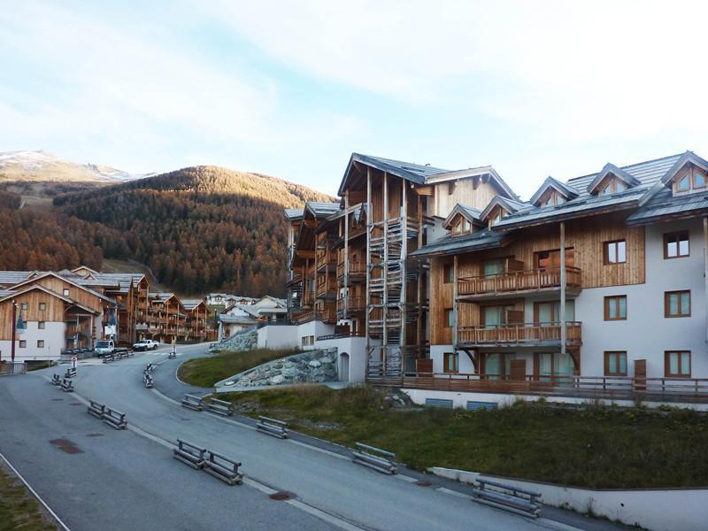 Location au ski Appartement 2 pièces 6 personnes (492) - Résidence les Silènes - Mélèzes d'Or - Les Orres - Extérieur été