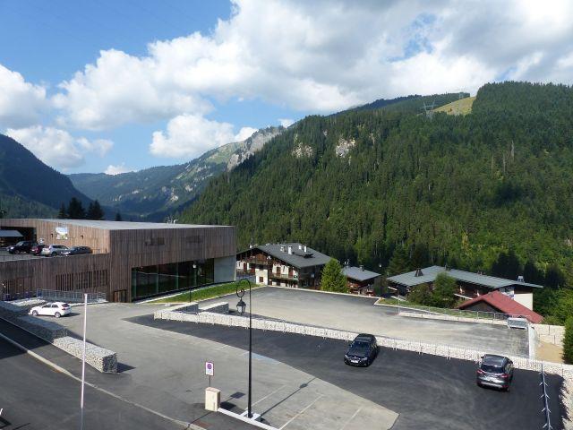 Ski verhuur Appartement 2 kamers 5 personen (2829) - Résidence les Snailles - Châtel - Buiten zomer