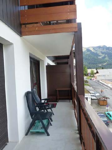 Vacaciones en montaña Apartamento 2 piezas para 5 personas (2829) - Résidence les Snailles - Châtel - Balcón