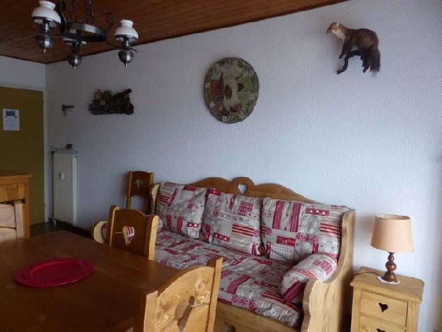 Vacaciones en montaña Apartamento 2 piezas para 5 personas (2829) - Résidence les Snailles - Châtel - Sofá-cajón