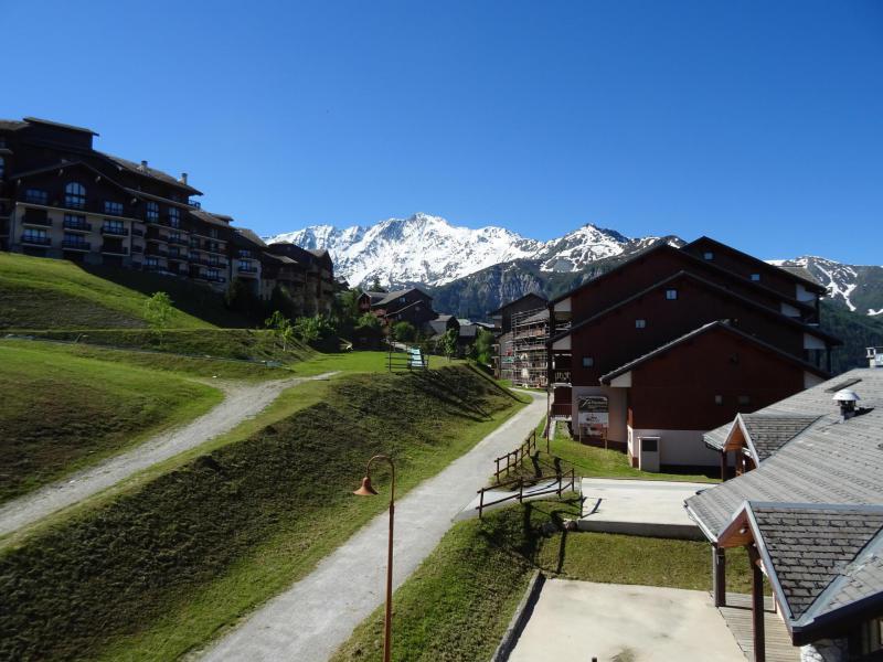 Vacances en montagne Studio coin montagne 4 personnes (38) - Résidence les Soldanelles - Peisey-Vallandry - Extérieur été
