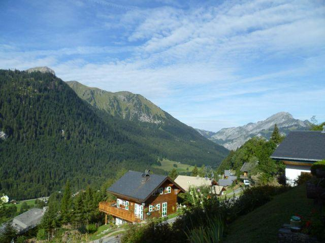 Vacaciones en montaña Apartamento cabina 2 piezas para 5 personas (004) - Résidence les Sorbiers - Châtel - Verano
