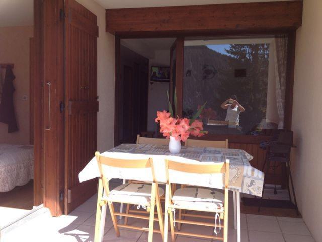 Wakacje w górach Apartament 2 pokojowy z alkową 5 osób (002) - Résidence les Sorbiers - Châtel - Taras