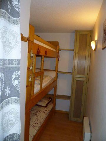 Wakacje w górach Apartament 2 pokojowy z alkową 5 osób (004) - Résidence les Sorbiers - Châtel - Alkowa