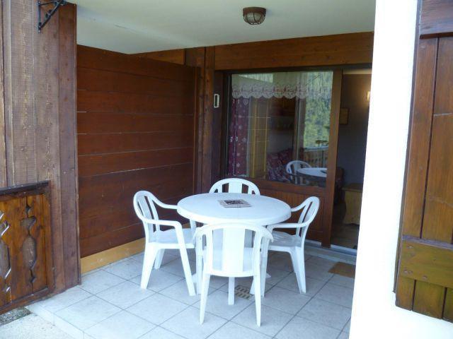 Wakacje w górach Apartament 2 pokojowy z alkową 5 osób (004) - Résidence les Sorbiers - Châtel - Taras