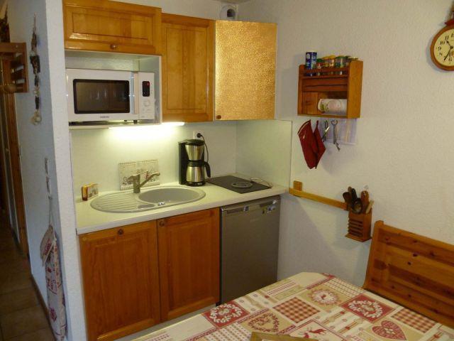 Vacaciones en montaña Apartamento cabina 2 piezas para 5 personas (004) - Résidence les Sorbiers - Châtel - Kitchenette
