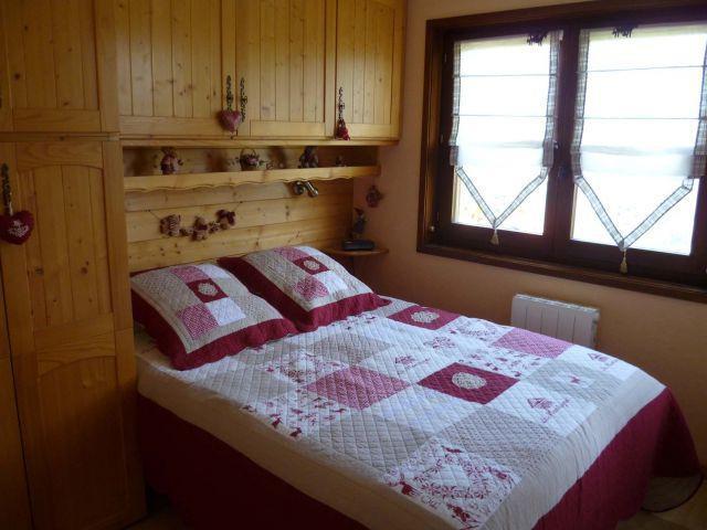 Vacances en montagne Appartement 2 pièces coin montagne 5 personnes (004) - Résidence les Sorbiers - Châtel - Chambre