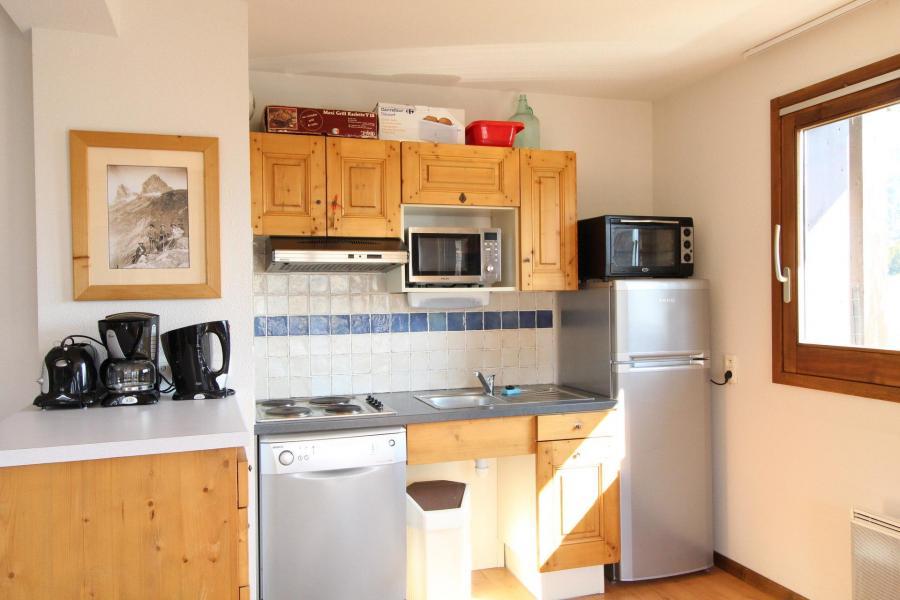 Vacances en montagne Appartement 2 pièces 4 personnes (005) - Résidence les Sports - Aussois - Cuisine