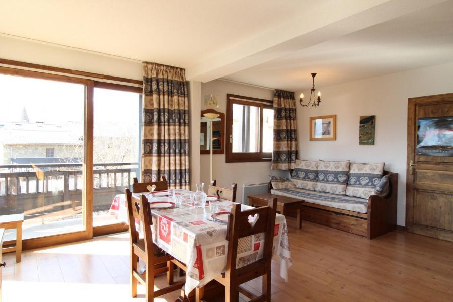 Vacances en montagne Appartement 2 pièces 4 personnes (005) - Résidence les Sports - Aussois - Table
