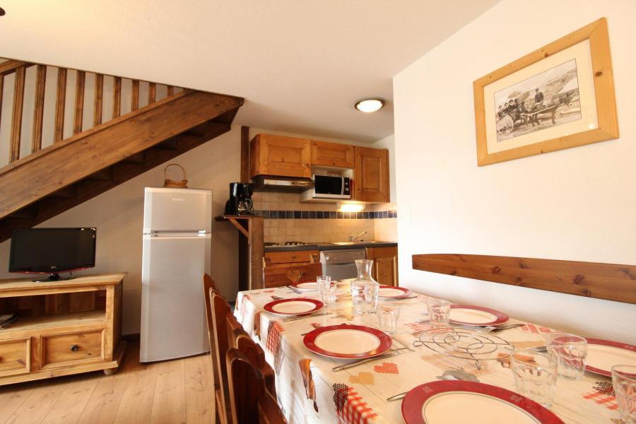 Vacances en montagne Appartement duplex 4 pièces 8 personnes (015) - Résidence les Sports - Aussois - Logement