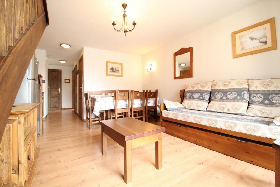 Vacances en montagne Appartement duplex 4 pièces 8 personnes (015) - Résidence les Sports - Aussois - Séjour
