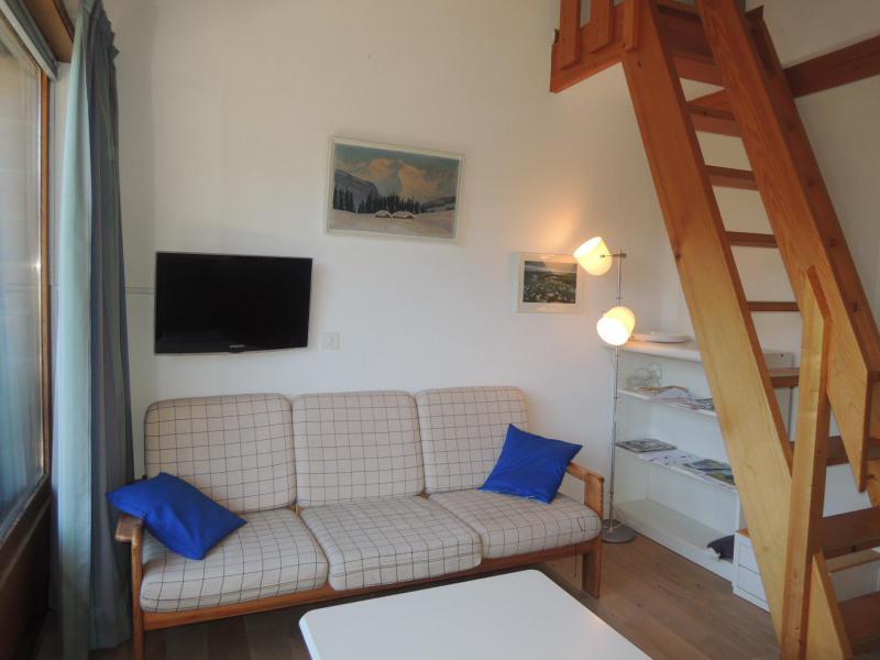 Vacances en montagne Appartement 2 pièces mezzanine 4 personnes (8) - Résidence les Tartifles - Châtel - Séjour