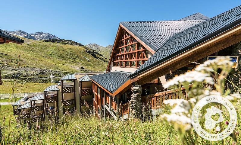 Wynajem na narty Résidence les Temples du Soleil - Maeva Home - Val Thorens - Na zewnątrz latem