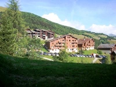 Vacances en montagne Studio 4 personnes (024) - Résidence les Teppes - Valmorel - Extérieur été