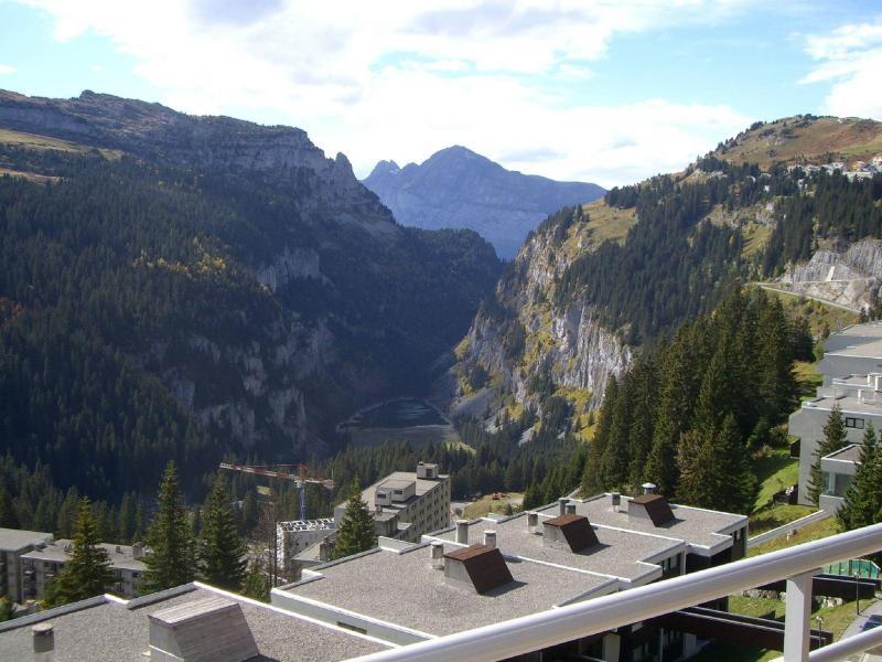 Skiverleih Résidence les Terrasses de Veret - Flaine - Draußen im Sommer