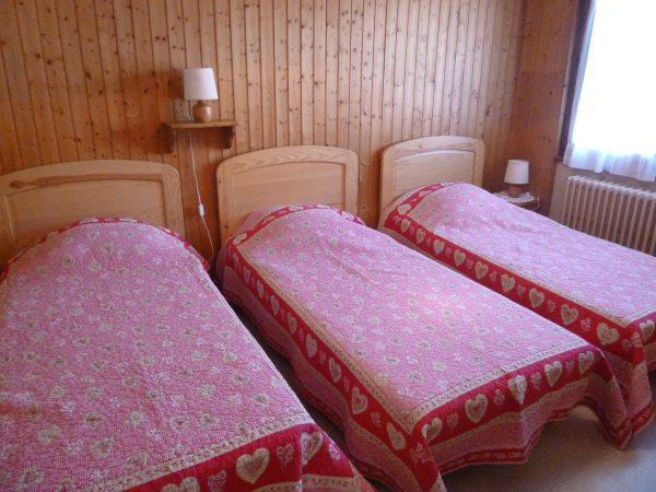 Holiday in mountain resort Résidence les Tilleuls - Le Grand Bornand - Single bed