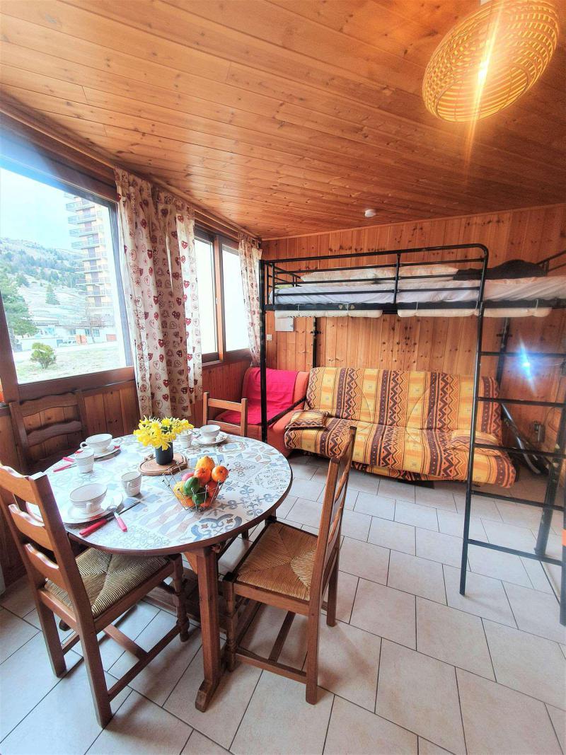 Vacaciones en montaña Estudio para 2 personas (TB1) - Résidence les Toits du Dévoluy - Superdévoluy - Sofá-cama