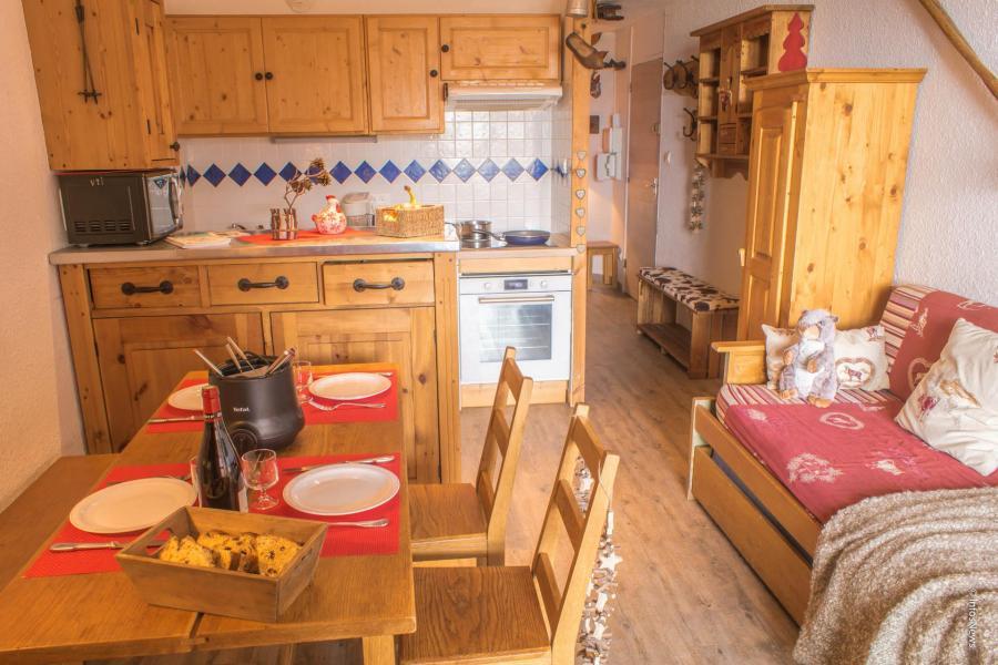 Vacances en montagne Studio cabine 4 personnes (513) - Résidence les Trois Vallées - Val Thorens