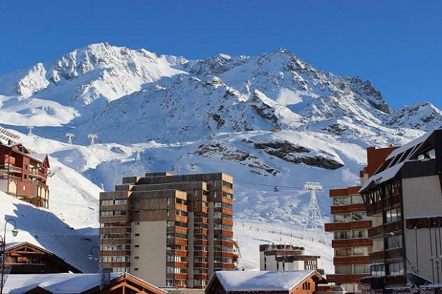 Vacances en montagne Studio 2 personnes (402) - Résidence les Trois Vallées - Val Thorens