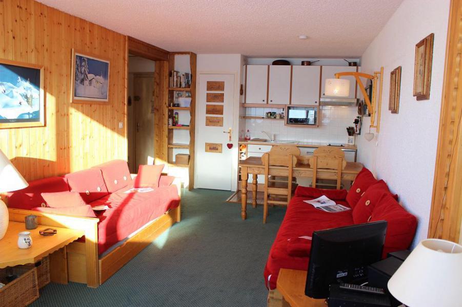 Vakantie in de bergen Appartement 2 kamers 4 personen (609) - Résidence les Trois Vallées - Val Thorens - Woonkamer
