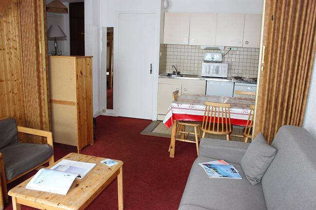 Vacances en montagne Appartement 2 pièces 4 personnes (908) - Résidence les Trois Vallées - Val Thorens - Séjour