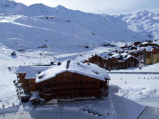 Vacances en montagne Appartement 2 pièces cabine 6 personnes (1003) - Résidence les Trois Vallées - Val Thorens - Canapé