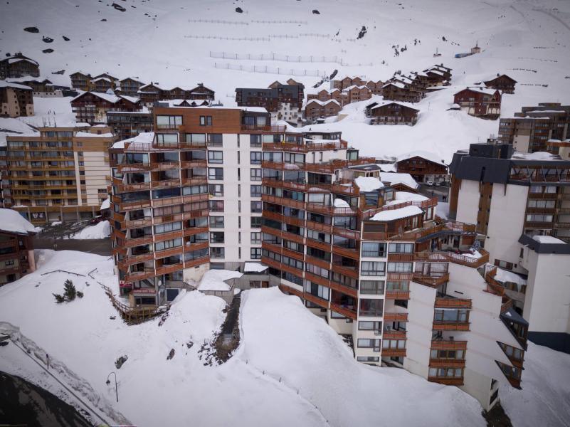 Vacances en montagne Appartement 2 pièces cabine 6 personnes (1003) - Résidence les Trois Vallées - Val Thorens - Lits gigognes