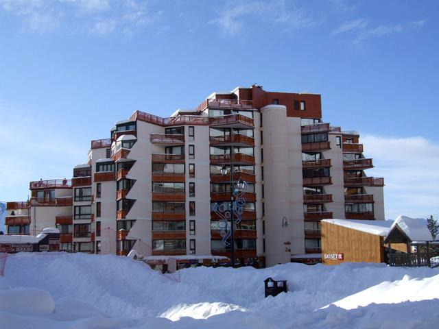 Vacances en montagne Appartement 2 pièces cabine 6 personnes (905) - Résidence les Trois Vallées - Val Thorens - Lits gigognes