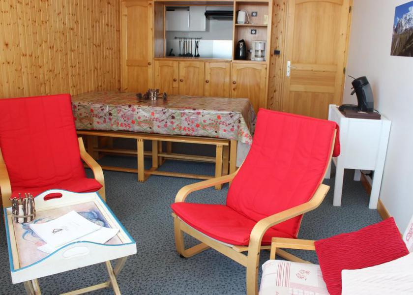 Vakantie in de bergen Appartement 3 kabine kamers 6 personen (703) - Résidence les Trois Vallées - Val Thorens - Woonkamer