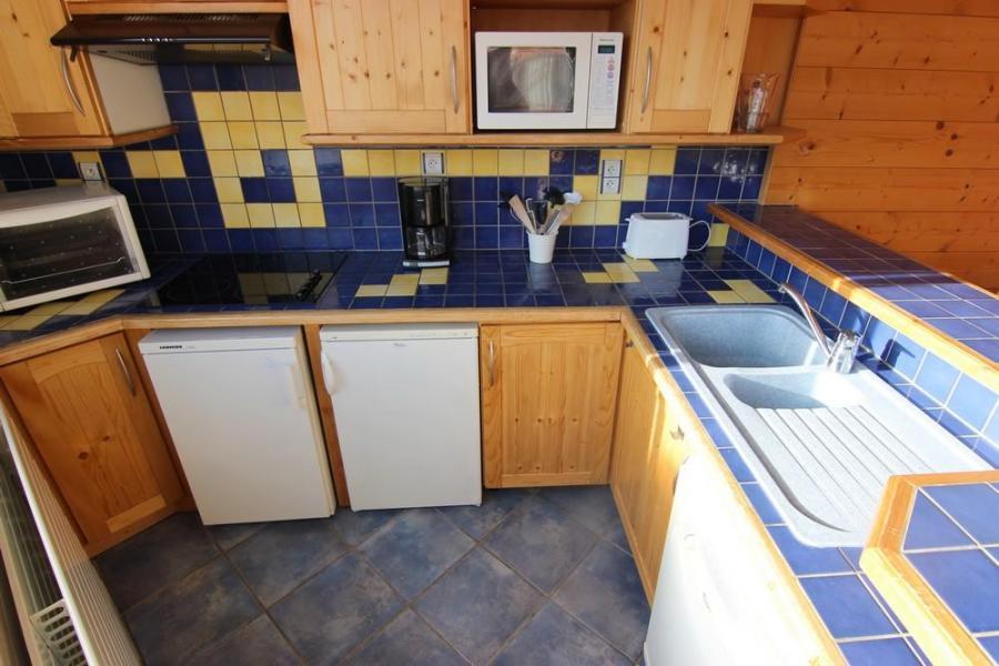 Vakantie in de bergen Appartement 3 kamers 5 personen (805) - Résidence les Trois Vallées - Val Thorens - Wastafel