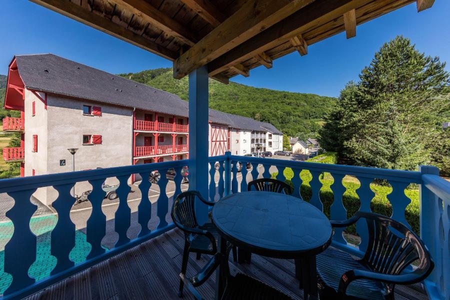 Vacances en montagne Résidence les Trois Vallées - Saint Lary Soulan - Balcon