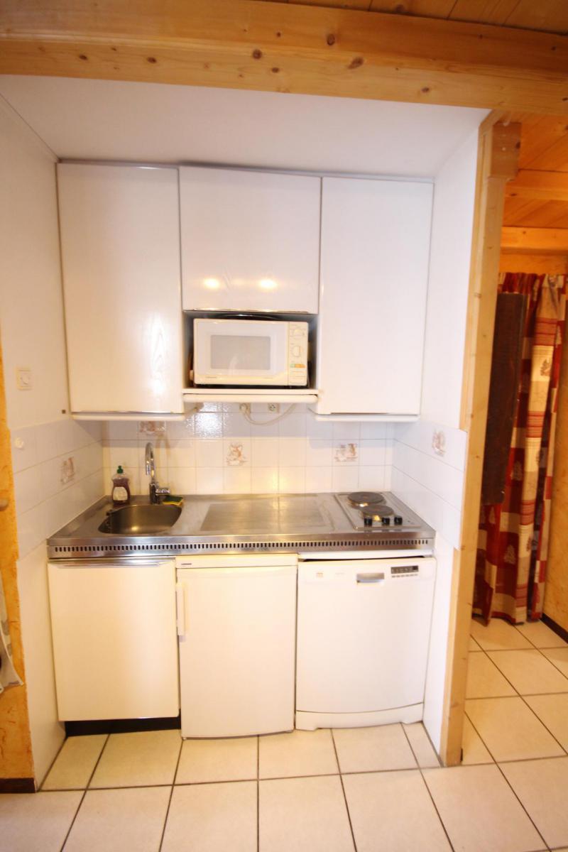 Wakacje w górach Apartament 2 pokojowy 4 osób (13R) - Résidence les Trolles - Tignes - Aneks kuchenny
