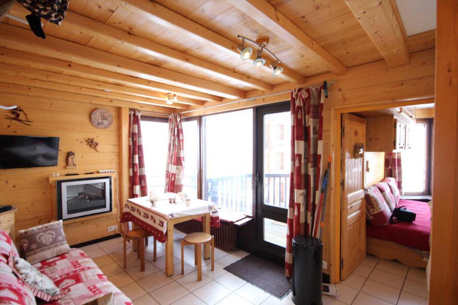 Wakacje w górach Apartament 2 pokojowy 4 osób (13R) - Résidence les Trolles - Tignes - Pokój gościnny