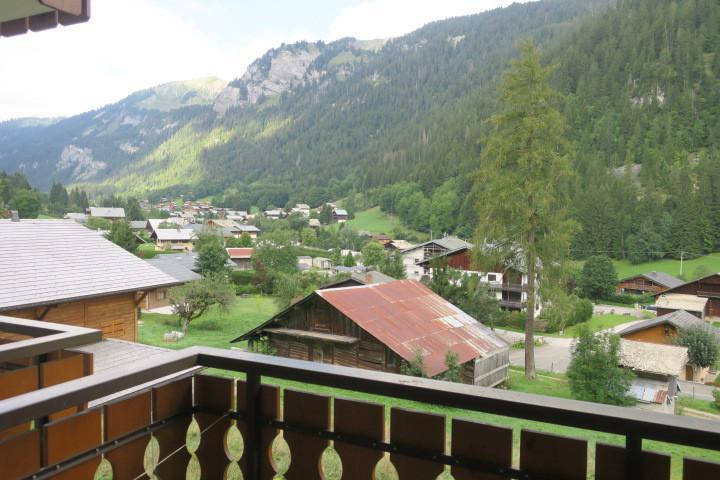 Vacances en montagne Studio coin montagne 4 personnes (A11) - Résidence les Tyroliens - Châtel - Extérieur été