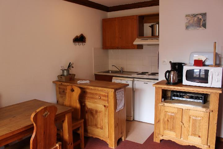 Holiday in mountain resort 2 room apartment 4 people (C31) - Résidence les Valmonts - Valloire