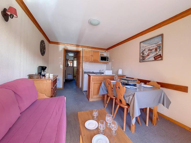 Location au ski Appartement 2 pièces 4 personnes (1116) - Résidence les Valmonts - Les Menuires - Extérieur été
