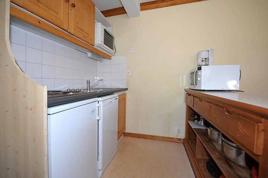 Location au ski Appartement 3 pièces 6 personnes (205) - Résidence les Valmonts - Les Menuires - Extérieur été